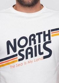 Bild på North Sails T-Shirt Retro White