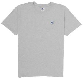 Bild på North Sails T-Shirt S/S With Patch - Light Grey Melange