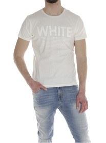 Bild på North Sails T-Shirt S/S with Print - Off White