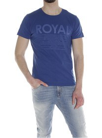 Bild på North Sails T-Shirt S/S with Print - Royal Blue