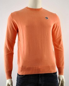 Bild på North Sails Washed Round Neck Orange