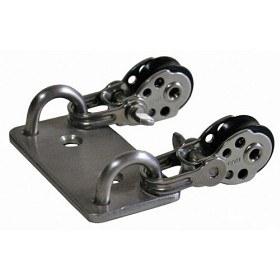 Bild på Optiparts Double Pad Eye With Harken Blocks, Laser