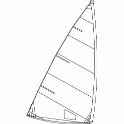 Bild på Optiparts Sail For 4.7 Laser®, Not For Racing