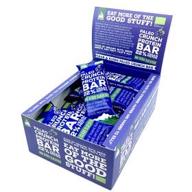 Bild på Kleen Paleo Crunch Protein Bar Who Berry Blueberry 12 st