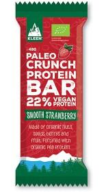 Bild på Kleen Paleo Crunch Protein Bar Smooth Strawberry 47 g