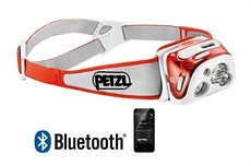 Bild på Petzl Reactik+ 300 lumen Coral - Uppladdningsbar