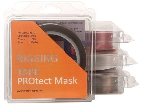 Bild på PROtect Mask Tape 50micron 25mm 33m Ljusgrå