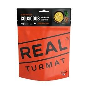 Bild på Real Turmat Couscous med linser och spenat (Vegetarisk)