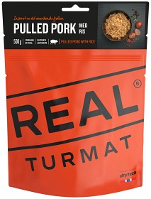 Bild på Real Turmat Pulled Pork with Rice 547 kcal