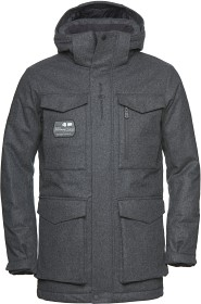 Bild på Sail Racing Glacier Bay Wool Parka - Dark Grey Mel