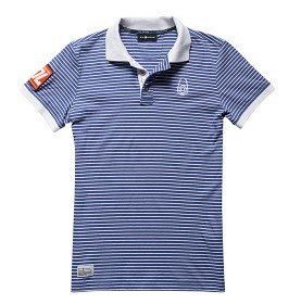 Bild på Sail Racing Grinder Polo Stripe - Blue