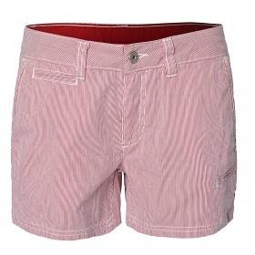Bild på Sail Racing Grinder Shorts Striped W - Red/White Stripe