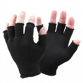 Bild på Sealskinz Merino Fingerless Glove Liner One Size