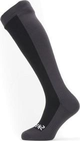 Bild på SealSkinz Waterproof Cold Weather Knee Sock Black/Grey