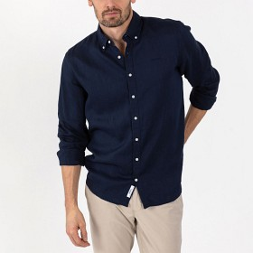 Bild på Sebago Anthony Linen Shirt B.D Navy