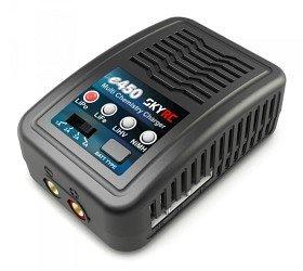 Bild på SkyRC e450 Charger LiPo/LiFe/LiHV 2-4S, NiMH 6-8, 50W 240VAC