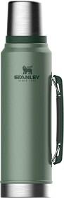 Bild på Stanley Classic Bottle 1.0L Hammertone Green