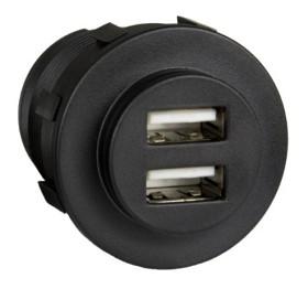 Bild på Sutars USB-uttag för infällning 5A