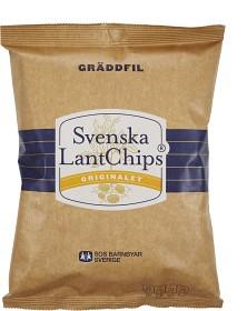 Bild på Svenska LantChips Gräddfil 200 g