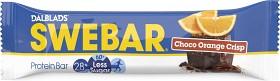 Bild på Swebar Less Sugar Choco Orange Crisp 50 g