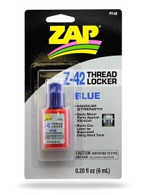 Bild på ZAP Z-42 Thread Locker Blue 6ml