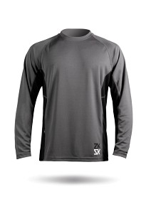 Bild på Zhikdry Long Sleeve Top Grey Men