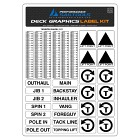 Deck Graphics Control Label Kit