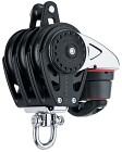 Harken 75 mm Carbo Triple/swivel/150 Cam-Matic®/becket