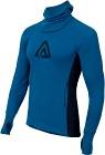 Aclima WarmWool Hood Sweater Man Blue Sapphire/Peacoat