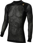Aclima WoolNet Crew Neck Shirt Man Jet Black