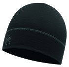 Buff Merino Wool 1 Layer Hat Solid Black