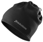 Houdini Power Hat True Black/White Logo