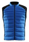 Sail Racing Race Down Vest - Bright Blue