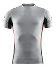 Sail Racing Reference SS Rashguard - Light Grey