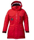 Sail Racing W Glacier Parka - Red