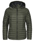 Sail Racing W Link Down Hood - Forest Green