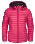 Sail Racing W Link Down Hood - Raspberry Pink