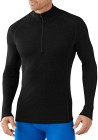 Smartwool M's Light 200 Zip T Black