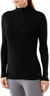 Smartwool W's Light 200 Zip T Black