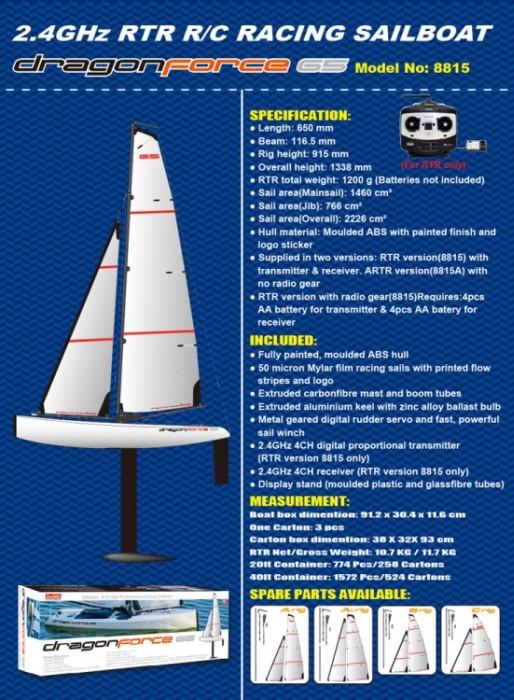 Köp Joysway Dragon Force 65 V6 - RTR på happyyachting com